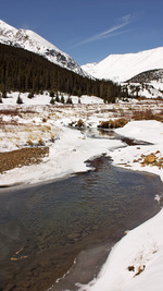 Vinter, Platte River, Colorado